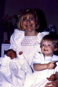 Christine, 28 jaar, net bevallen van haar tweede dochter
